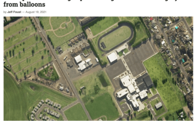 Startup raises funding to provide high-resolution imagery from balloons