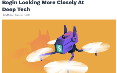 Eyeing Opportunities, Investors Begin Looking More Closely At Deep Tech