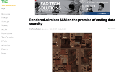 Rendered.ai raises $6M on the promise of ending data scarcity