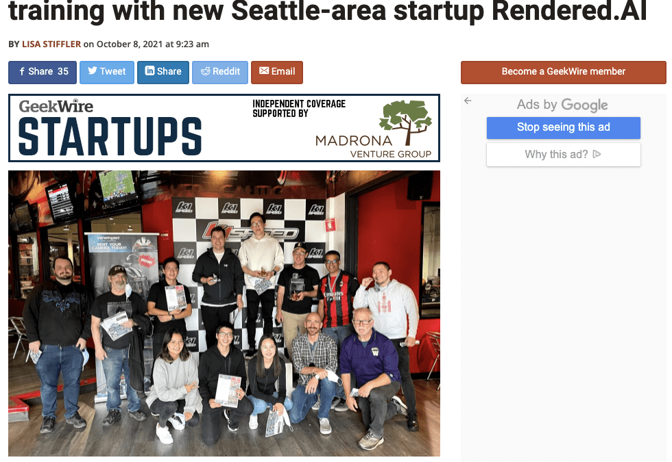 Former Kymeta CEO lands $6M to reimagine AI training with new Seattle-area startup Rendered.AI